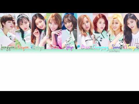 TWICE 트와이스  Cheer Up Lyrics Color CodedHANROMENG