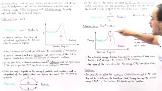 Enzymes' Effect on Activation Energy and Free Energy