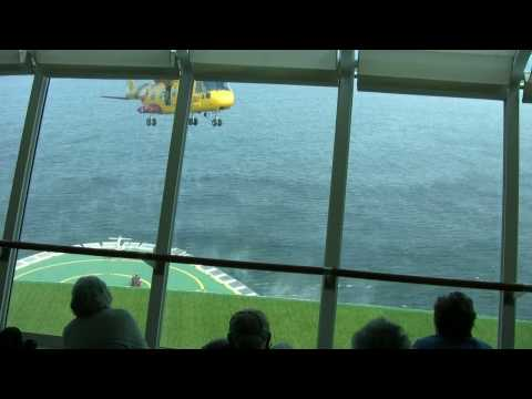 Dramatic Medevac Rescue from Cruise Ship