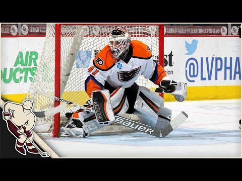 AHL: Goalie Goals