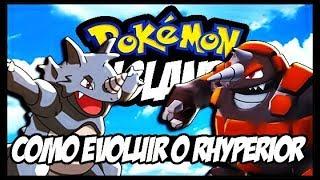 POKEMON ISLAND-COMO EVOLUIR O RHYDON PARA O RHYPERIOR