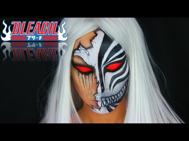 Ichigo Hollow Inspired Mask | BLEACH | Cosplay Makeup Tutorial