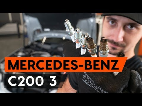 How to replace spark plug onMERCEDES-BENZ С W203[TUTORIAL AUTODOC]