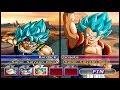 BARDOCK O Lendário Super Sayajin BLUE Dragon Ball Z Budokai Tenkaichi AF