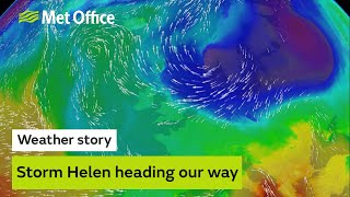 Storm Helene heading our way