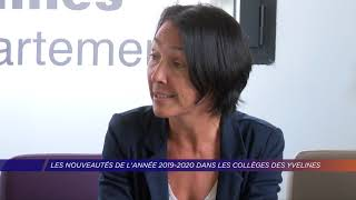 Yvelines | Les nouveautés de l'année 2019-2020 dans les collèges des Yvelines