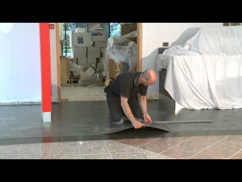 Pioneer Trading Mabos Verlegung Design PVC Magnetboden / Magnetic Flooring Installation