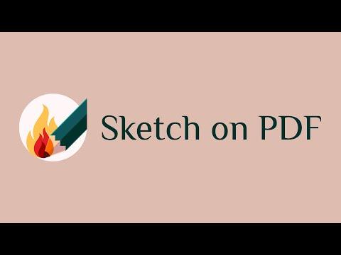 Sketch on PDF thumb