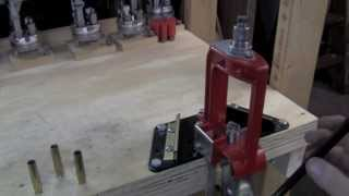 Small Space Reloading With A Lee Steel Bench Block.mov