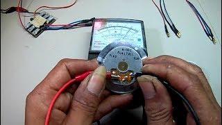 Cara/trick menghidupkan BLDC hard drive komputer (Brushless hardisk  komputer 4 pin).