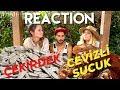 Yabancılar Türk Yemekleri Tadıyor REACTİON! Eating Turkish Snacks For The First Time!