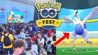AVOIR LUGIA POKEMON GO & POKEMON GO FEST 2017 ! - Pokémon légendaire