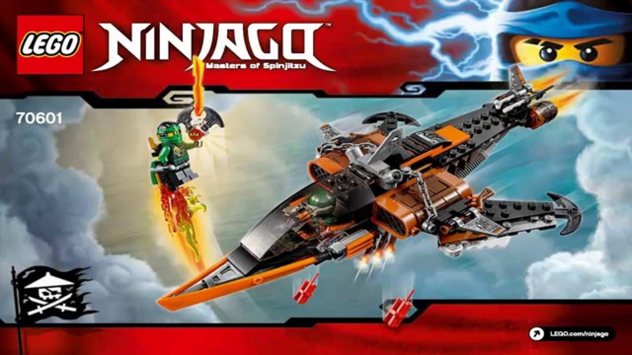 LEGO Ninjago 70601 Sky Shark 2016 NEW