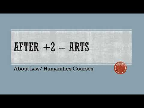 After Plus Two | Arts | Law & Humanity Courses