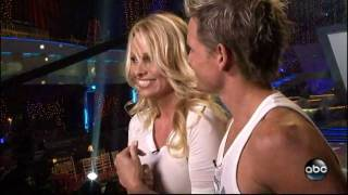 Pamela Anderson - DWTS Interview With Melissa Rycroft