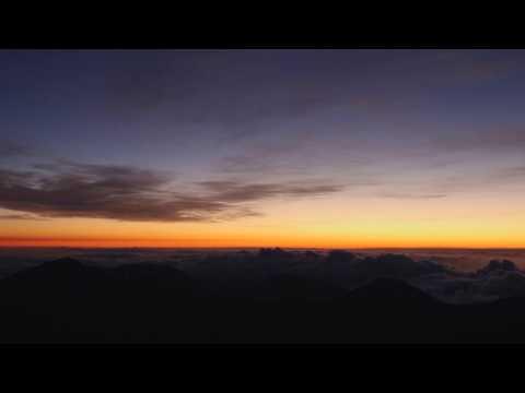 Sunrise Atop the Haleakalā