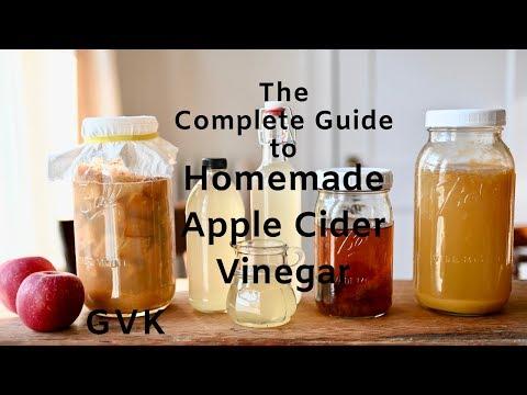 How To Make Apple Cider Vinegar At Home