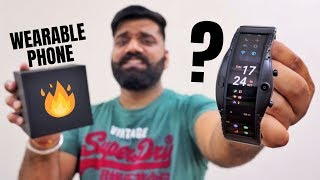 This Wearable Smartphone is Crazy!!! Nubia Alpha Unboxing & First Look - Smartwatch?🔥🔥🔥