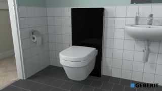 Подвесной унитаз Geberit Monolith WC  установка - Сантехника(, 2014-05-14T12:59:34.000Z)