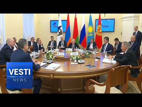 Leaders Very Pleased With Progress of Eurasian Economic Union; Forge Closer Economic Ties