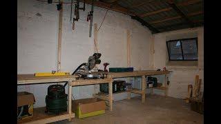 Byg selv 80x120cm arbejdsbord / værkstedsbord