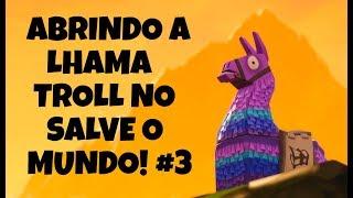 FORTNITE AHORRA EL MUNDO-OPENING EL LHAMA DE 1500 VBUCKS #3!!