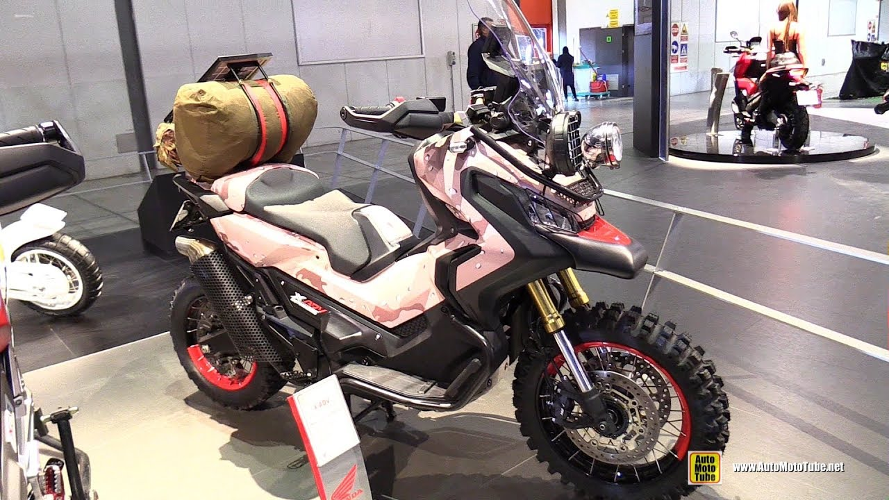 2018 honda x adv 750 customized by motomarche walkaround 2017 eicma milan youtube. Black Bedroom Furniture Sets. Home Design Ideas
