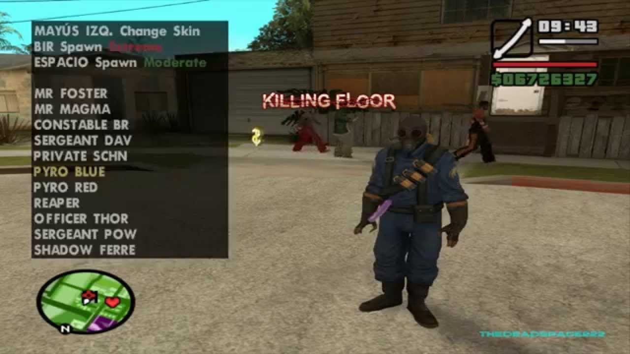 Gta San Andreas All Killing Floor Skins Ultra Combo