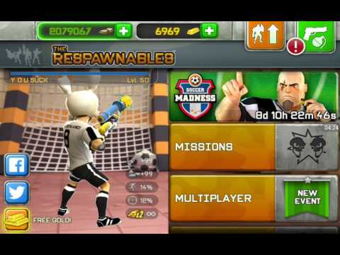 Respawnables Air Cannon review (soccer madness final prize)