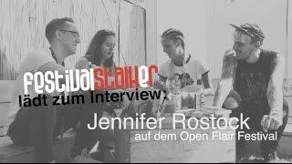 Jennifer Rostock im Interview // Open Flair 2016 - Uns gehört die Nacht