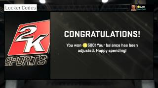 NBA 2K15 Locker Codes - Free 500 VC | How to Get More FREE VC! New 2K Codes! PS4 & Xbox One Thumbnail