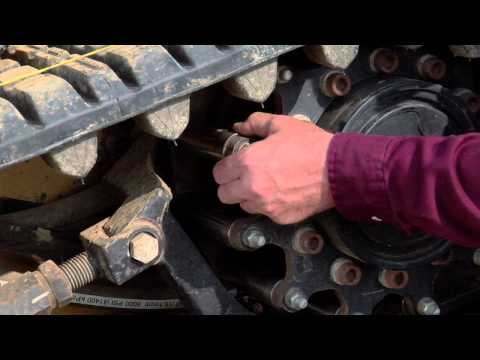 Cat® Multi Terrain Loader Rubber Belt Track Maintenance