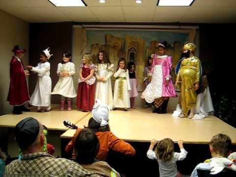 Chabad of Oxnard Hebrew School Childrens Purim Performance -March 20, 2011