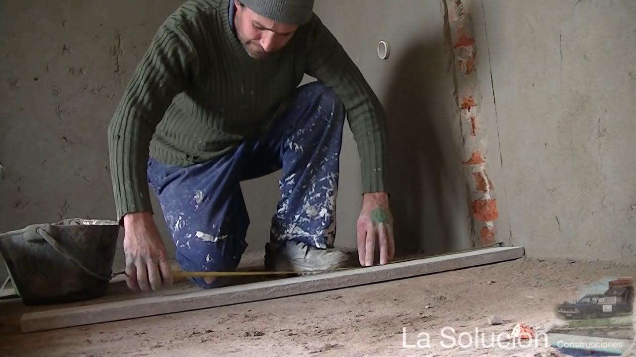 Mesada de cocina construccion e instalacion youtube for Como hacer una pileta de cemento
