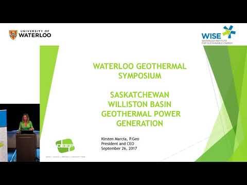Geothermal Symposium 2017 - Panel 3