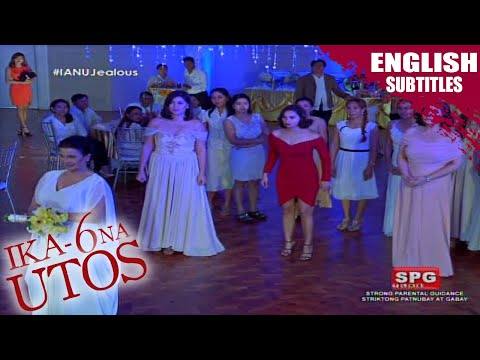 Ika-6 Na Utos: Agawan sa bouquet of flowers