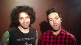 Fall Out Boy в А2 / 30.07.2013 / a2.fm