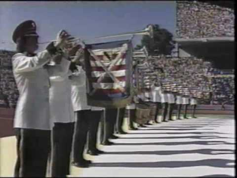 1990 Goodwill Games Opening/Welcoming Ceremony Seattle, WA Part 01