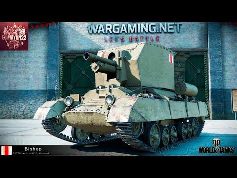 World of Tanks | Обзорчик САУ Bishop