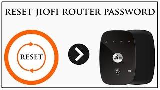 How To Reset JioFi WiFi Password # JioFi Ka Password Kaise Reset Kare # Reset JioFi WiFi Router #