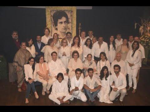 In Graphics: Shashi Kapoor prayer meet at Prithviraj Theater: Kapoors and Bollywood stars