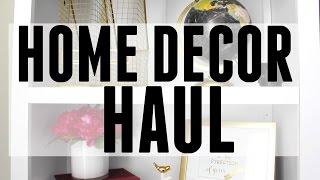 Home Decor Haul | Target, World Market + Tjmaxx