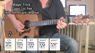 (They Long to Be) Close to You - Acoustic Guitar - Chords - Carpenters