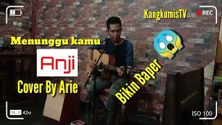 Download lagu Menunggu kamu anji cover accoustic by arie (live in kongdjie caffe)