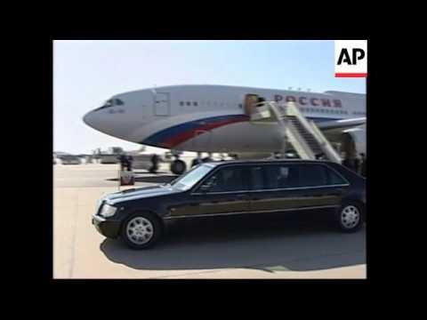Putin and Koizumi arrive for APEC summit