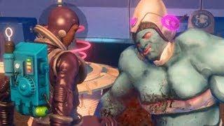Hangar 18 1/2: Babe and Alien Princess Kwilanna (Jenny) Kill Space Amazons (Saints Row 3 | Female)