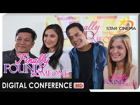 [FULL] 'Finally Found Someone' Digital Conference