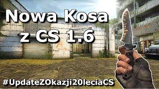NOWA KOSA z CS 1.6 + CS20 CASE DODANE DO CS:GO - Jakie mamy zmiany w NOWYM Update?