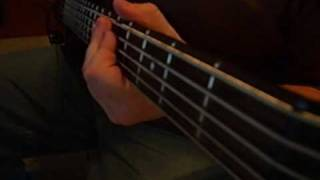 Maylene and The Sons of Disaster - Never Stop Haunting Bass Cover