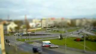tilt shift time lapse